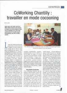 CoWorking Chantilly - Picardie Gazette 10 06 2016